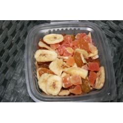 Mélange Banane Papaye et raisins - L'Assiette Méridionale