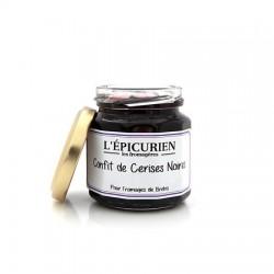 Confit de cerises noires -L'épicurien-