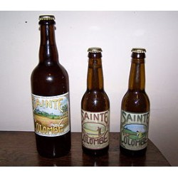 SAINTE COLOMBE BIERE BLONDE 75 CL