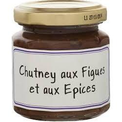 Chutney aux figues et aux épices 115 g l'épicurien