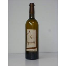 Muscadet Granit 2003  élevé 36 mois S/Lie. 2 étoiles guide Hachette 2008