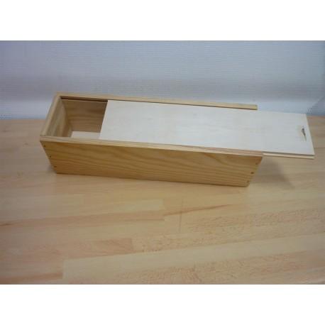 caisse bois pour 1 bouteille de vin magasin et achat vin en ligne. Black Bedroom Furniture Sets. Home Design Ideas