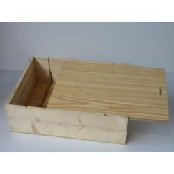 caisse bois pour 3 bouteilles de vin magasin et achat vin en ligne. Black Bedroom Furniture Sets. Home Design Ideas
