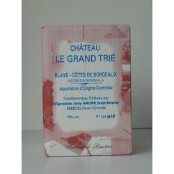 Blaye Côtes de Bordeaux Château le Grand Trié BIB 5 L
