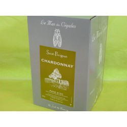 Chardonnay St Preignan Mas des Cigales BIB 5L
