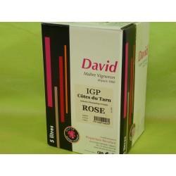 IGP Côtes du Tarn rosé David BIB 5L