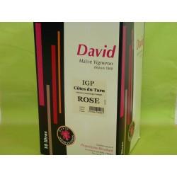 IGP Côtes du Tarn rosé David BIB 10L
