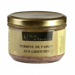 Terrine de faisan aux griottes Jean D'Audignac