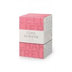 Côtes du Rhône Rosé BIB 5L Cellier des Chartreux