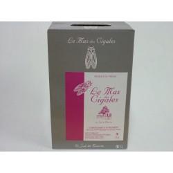 Le Mas des cigales rosé Château de Saint Preignan BIB 5L