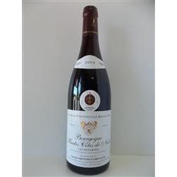 """Bourgogne Hautes Côtes de Nuits rouge """"Les Renardes"""""""