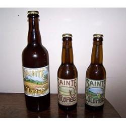 """SAINTE COLOMBE Bière brune au Seigle et Malt fumé """"Pie Noire"""""""