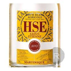 HSE RHUM BLANC AGRICOLE ST ETIENNE CUVEE 2012