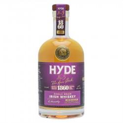 WHISKY HYDE n°5 - Single grain finition Bourgogne.