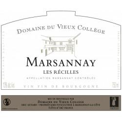 """MARSANNAY """" Les Récilles"""" - Domaine du Vieux Collège"""