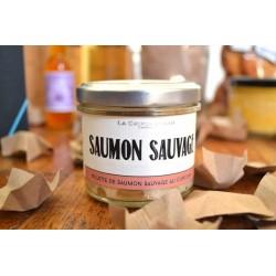 Rillettes de saumon à la fleur de sel de guérande et curry