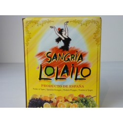 Sangria Lolailo Espagne BIB 3 L