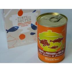 Soupe de poissons de roche aux saveurs de Provence - La belle-iloise