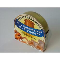 Petite marmite de pleurotes et langoustines - La belle-iloise