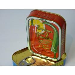 Sardines aux deux piments et sa note de citron - La belle-iloise