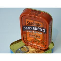 Sardines sans arêtes à l'huile d'olive vierge et à la tomate - La belle-iloise